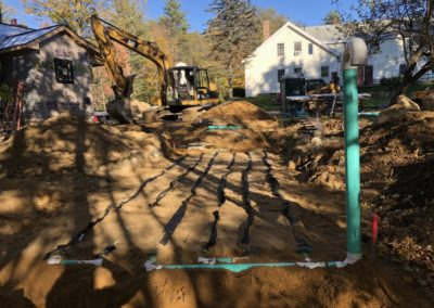 Septic project in Concord, NH
