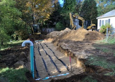 Septic project in Barnstead, NH