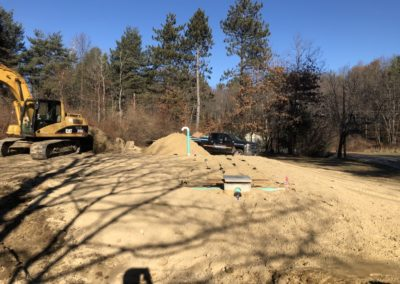 Septic project in Derry, NH