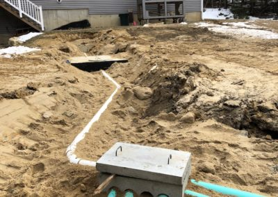 Septic project in Bow, NH