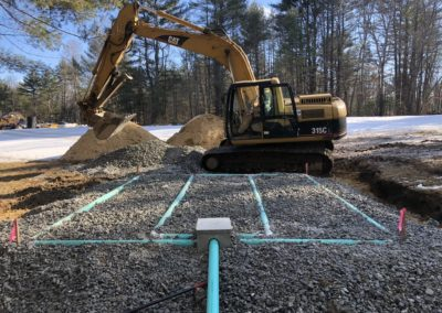 Septic Project in Chichester, NH