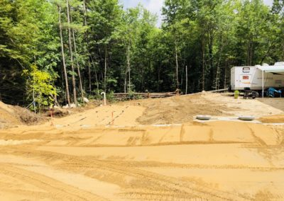 Septic project in Auburn, NH